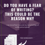 Overcome a Fear of Writing