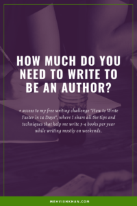 How much should you write?