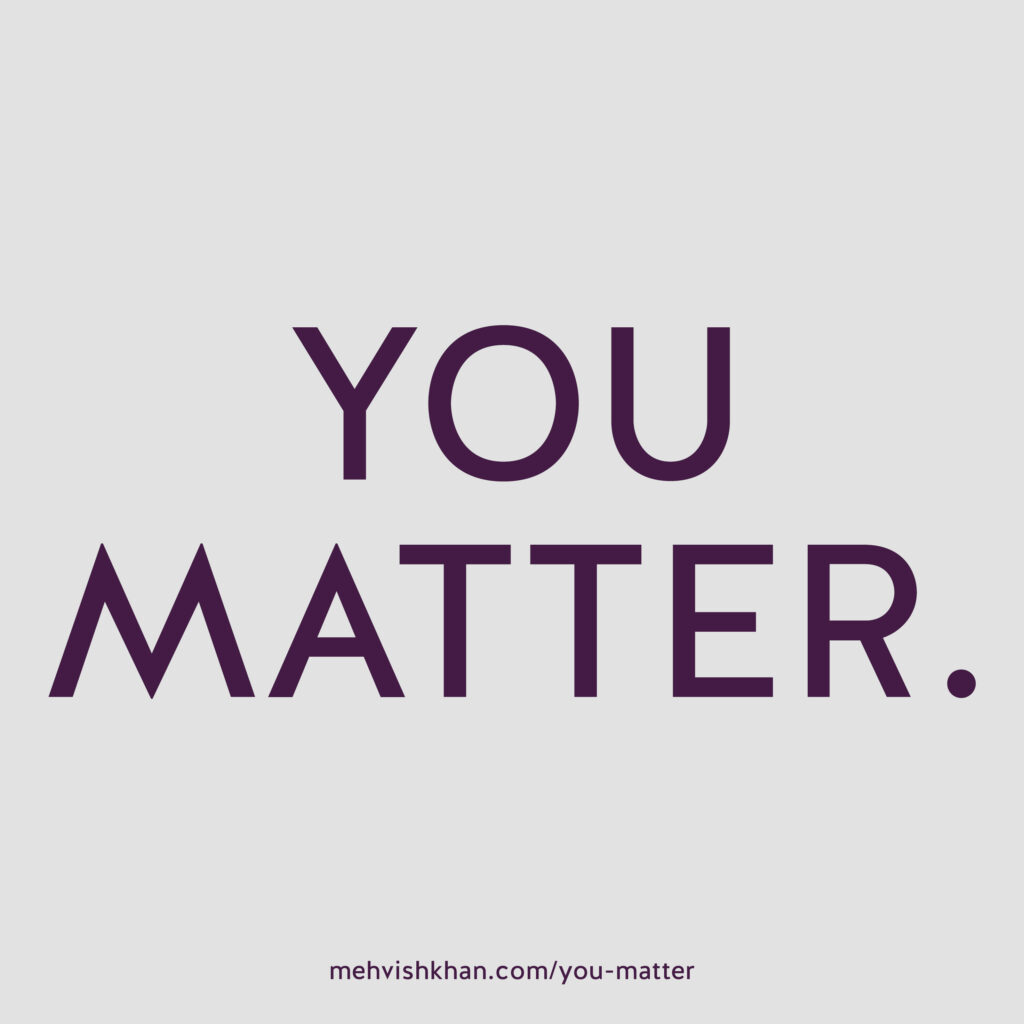 You Matter by M. Khan, Author and Podcast Host