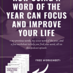 How to Use and Create a Word of the Year